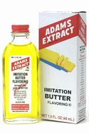 Imitation Butter Flavor - 1.5 FL OZ Bottle
