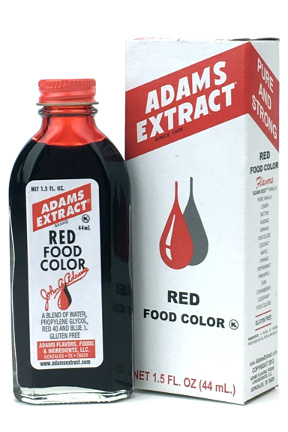 Red Food Color - 1.5 FL OZ Bottle