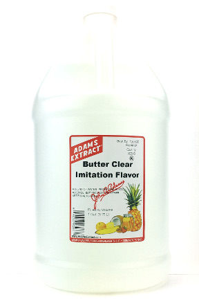 Butter Clear Imitation Flavor - Pint Size