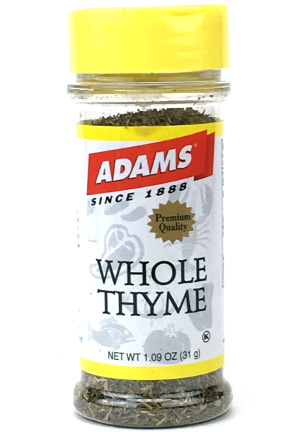 Whole Thyme - Small Family Size