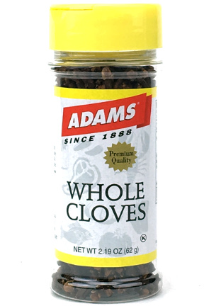 Whole Cloves - Small Family Size