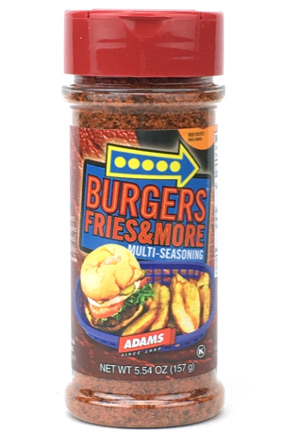 Burgers Fries & More Seasoning - Small Family Size