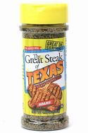 Great Steak of Texas Seasoning - Small Family Size