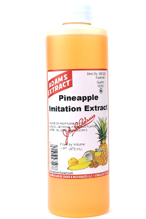 Imitation Pineapple Extract - Pint Size