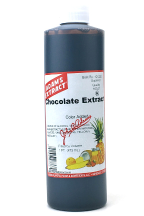 Chocolate Extract - Pint size