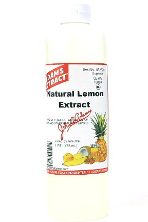 Pure Lemon Extract - Pint size