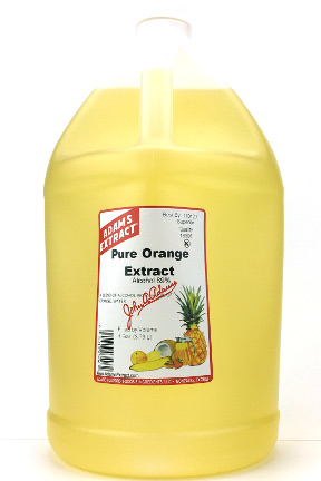 Pure Orange Extract - Gallon size