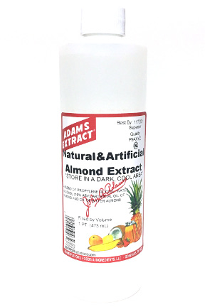 Natural & Artificial Almond Extract - Pint size
