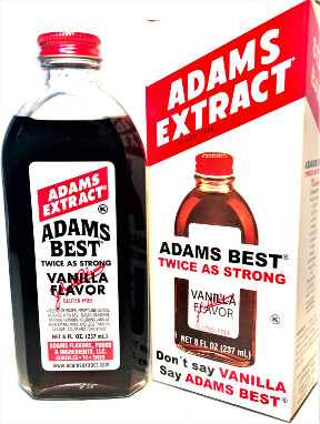 Adams Best Vanilla Flavor - 8 FL OZ Bottle