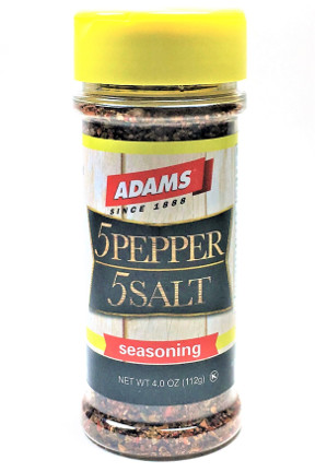5 Pepper 5 Salt Seasoning - Small Family Size