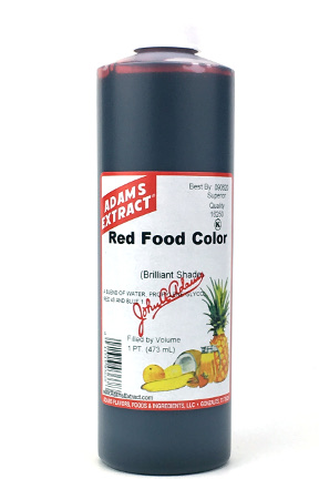 Red Food Color - Pint Size