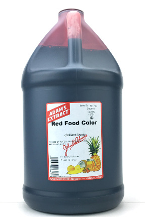 Red Food Color - Gallon Size