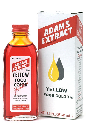 Yellow Food Color - 1.5 FL OZ Bottle